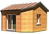 Ossature bois 21 Côte d'or - Bourgogne - Extension d'habitat - Modèle Cottage